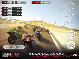 SBK14 Official Mobile Game - игра
