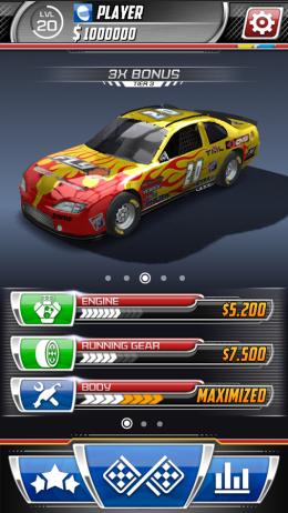 Daytona Rush - гараж