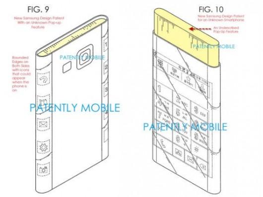 Изогнутый с обеих сторон дисплей от Samsung - новый патент