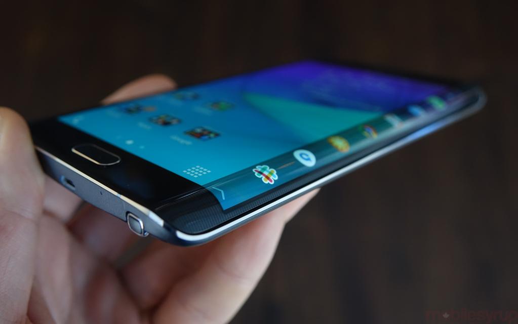 Изогнутый с обеих сторон дисплей от Samsung - патент