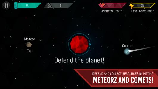 Meteorz - спасение планеты