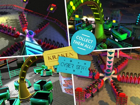 Funfair Ride Simulator 3  - опасные аттракционы