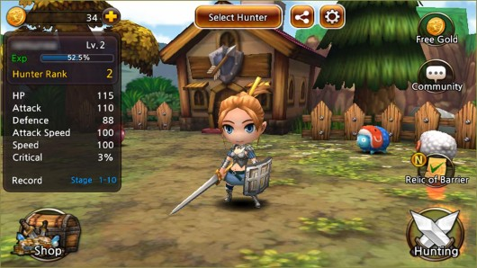 Demong Hunter - суровый игровой мир