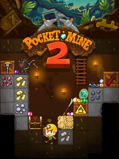 Pocket Mine 2  - майнкрафт в двухмерном пространстве