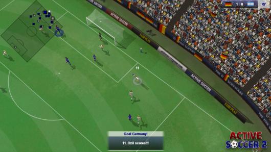 Active Soccer 2  - стратегический футбол