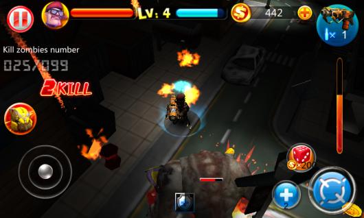 Zombie Craze - суровы мир сражений с зомби