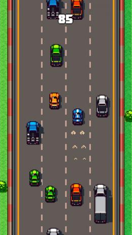 Road Crash Racing - платформерные гонки