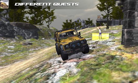 4x4 Offroad Trophy Quest – тотальное внедорожье