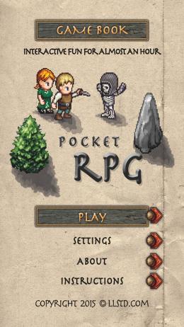 Gamebook: Pocket RPG - уютный игровой мир