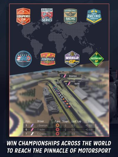 Motorsport Manager - менеджмент гонок