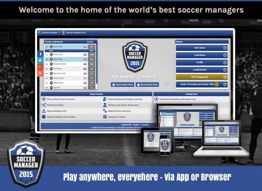 Soccer Manager 2015 - футбольный мир