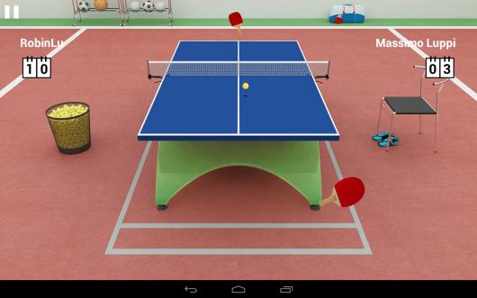 Virtual Table Tennis - виртуальный теннис
