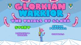 Glorkian Warrior - меню