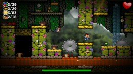 Canyon Capers - игра