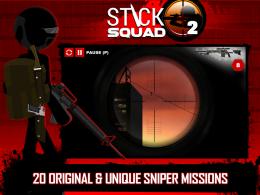 Stick Squad 2 - Shooting Elite - игра