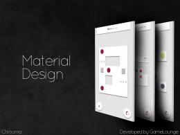 Chrooma - дизайн