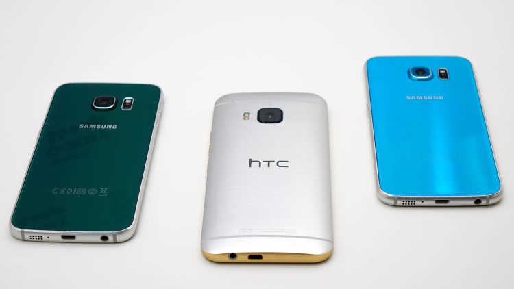 Ситуация с ценами на свежие флагманы HTC и Samsung