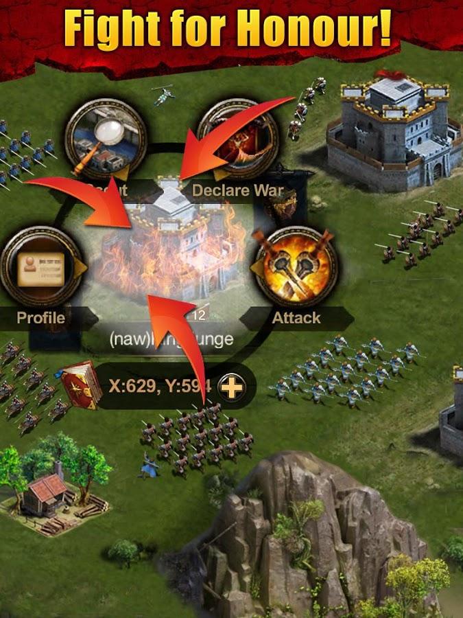Clash of Kings - легенды королевств