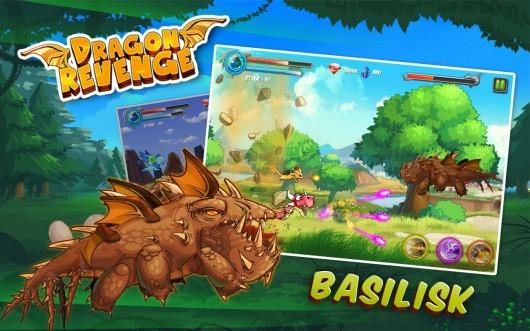 Dragon Revenge - великие бои драконов
