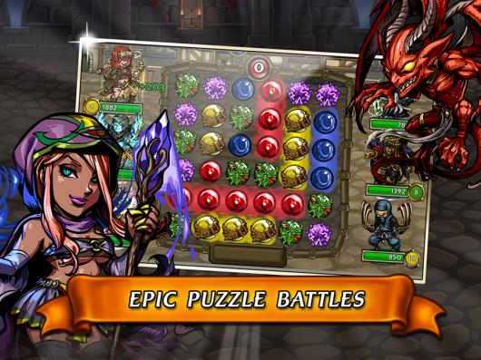Blood Brothers Puzzle - мир стратегии и развлечений
