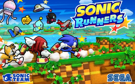 SONIC RUNNERS - раннер с Соником