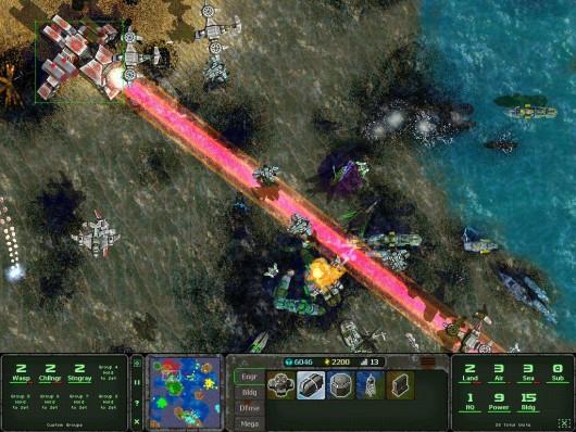 Land Air Sea Warfare RTS  - мир будущего в стратегии