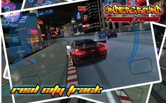 Underground Racing Rivals – гонки по ночным улицам
