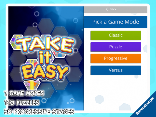 Take It Easy - логическая аркада