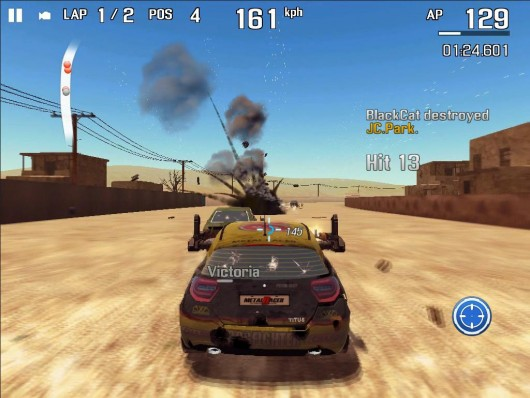 Metal Racer - опасные гонки