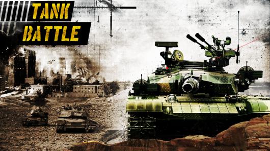 Tank Battle 3D: World War II - суровая война танков