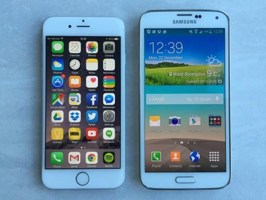 iPhone 6 лучше Galaxy S6 справляется с играми