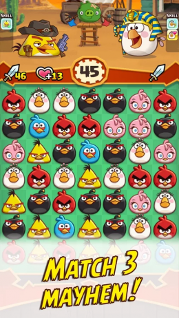 Angry Birds Fight! - игра