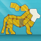 Shape Fold Animals — соберите животных