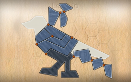 Shape Fold Animals - игра