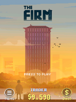 The Firm - меню