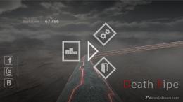 Death Pipe - меню