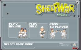 Sheep War - меню