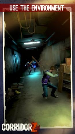 Corridor Z - игра