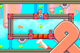 Silly Sausage in Meat Land - игра