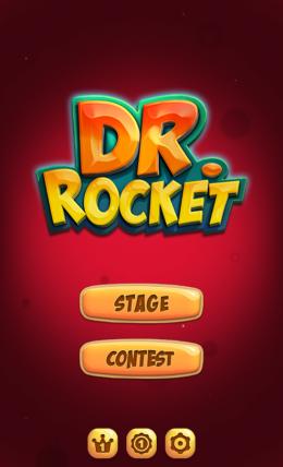 Dr. Rocket - меню