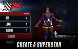 WWE 2K - создание персонажа