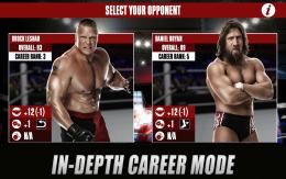WWE 2K - бойцы