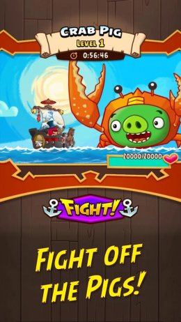 Angry Birds Fight! - босс