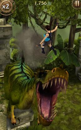 Lara Croft: Relic Run - игра