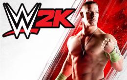 WWE 2K - заставка