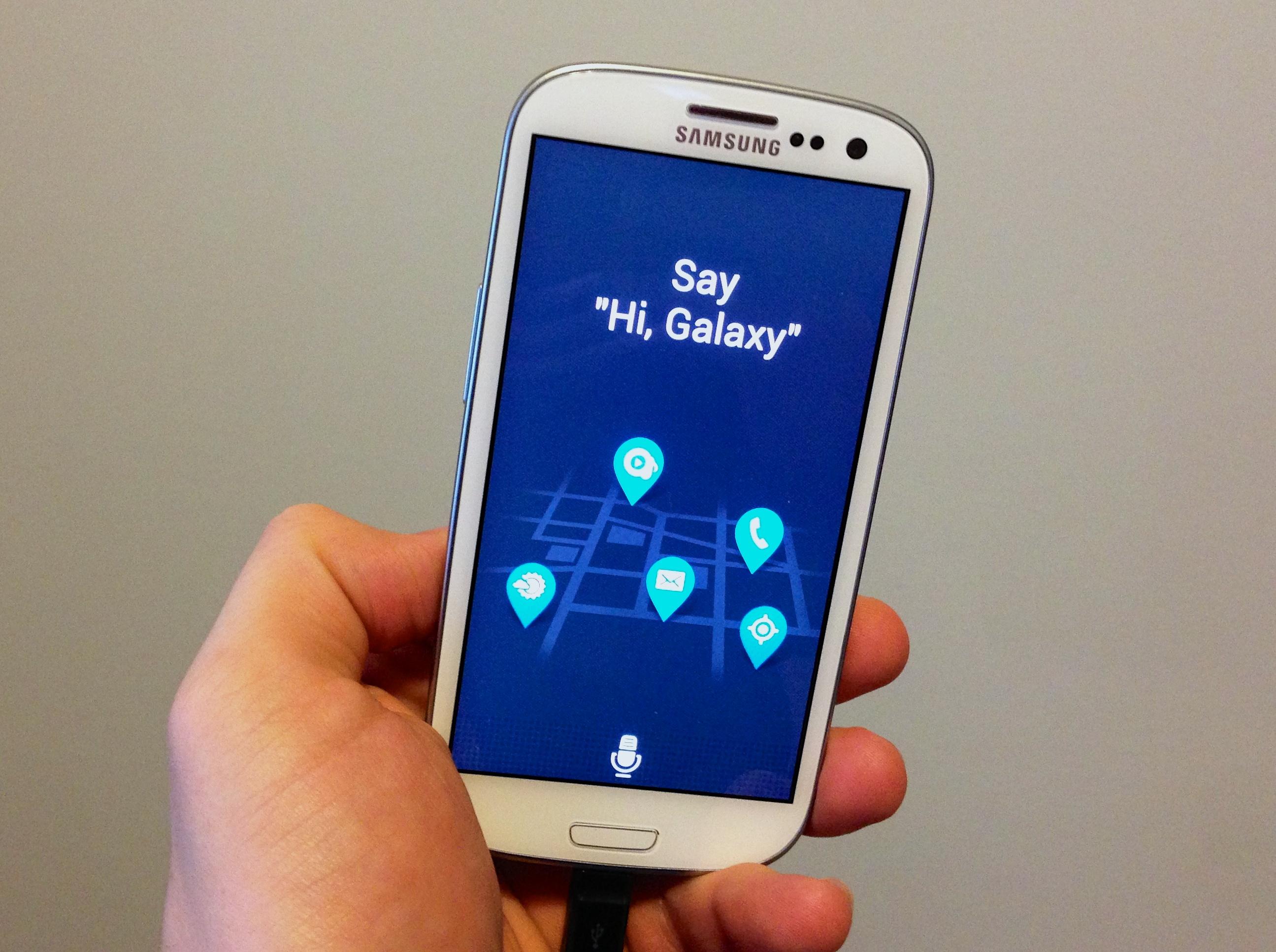 S-Voice и смартфоны от Samsung