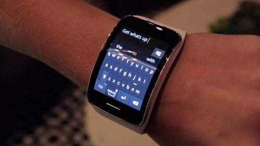Samsung планирует выпустить наручный смартфон?