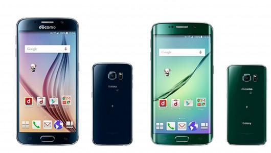 Оригинальный дизайн флагманских смартфонов Samsung в Японии