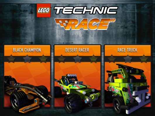 LEGO® Technic Race - гонки для фанатов ЛЕГО