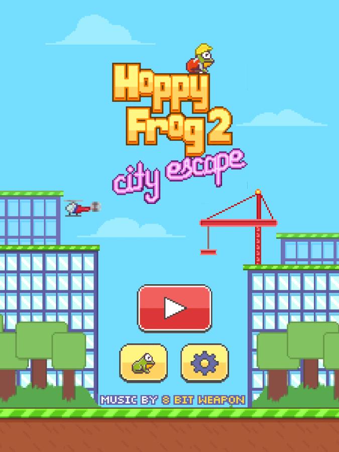 Hoppy Frog 2 - хитовая аркада